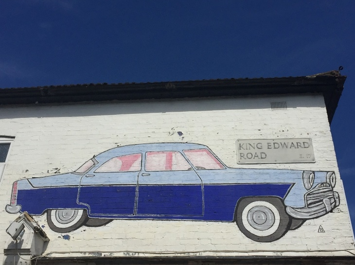 """My Grandad Painted This East London Car Art 60 Years Ago"""