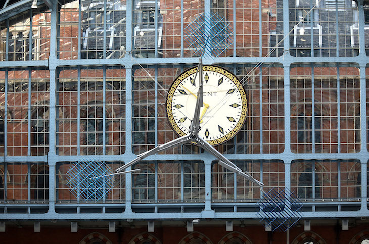 Have You Seen The New Piece Of Art At St Pancras?
