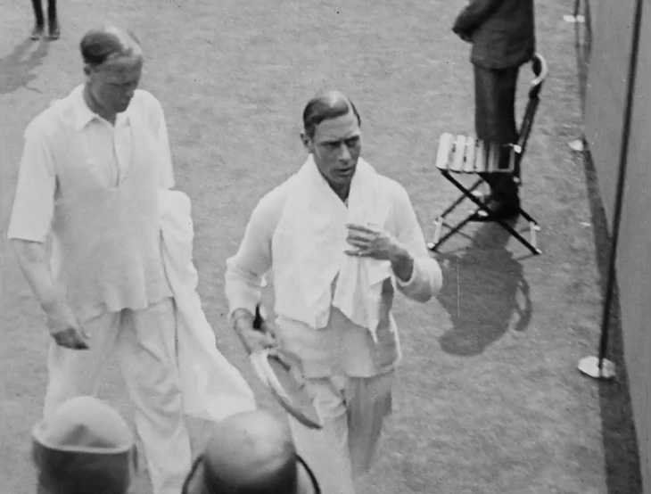 Video: When The Future King Of England Played At Wimbledon... And Lost