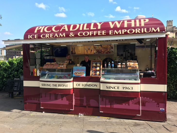 Meet London's ice cream sellers