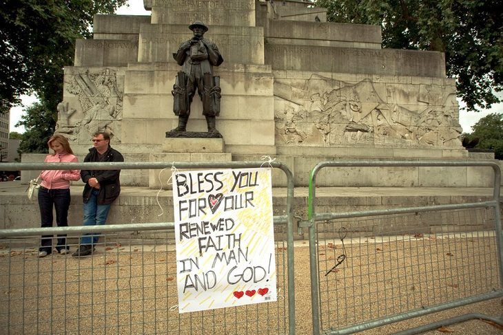 The Bouncer Who Modelled For London's Statues