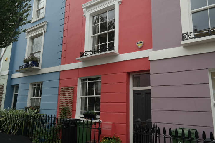 How London's Colourful Houses Happened
