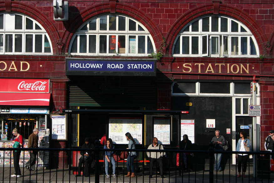 Ever heard of the spiral escalator of Holloway Road?