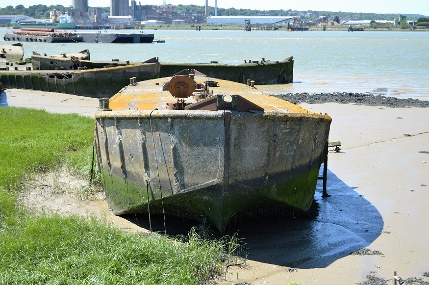 Hidden Bit Of D-Day Lurking In The Thames