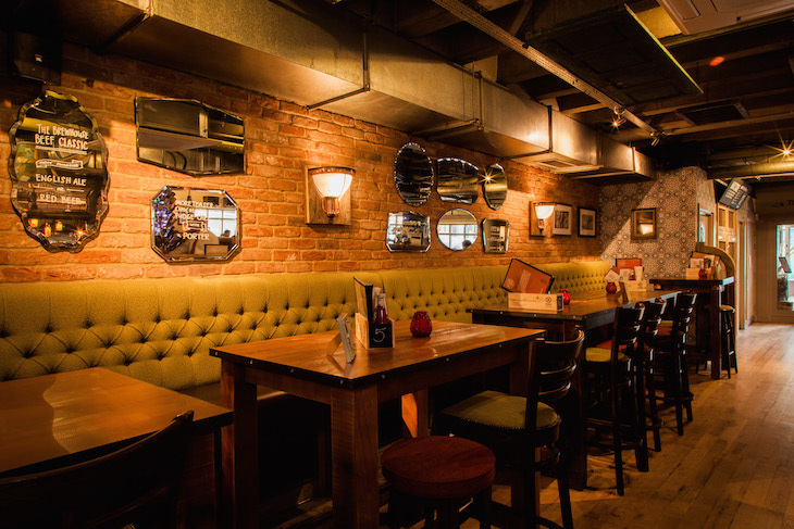 Inside Islington's Brewhouse & Kitchen