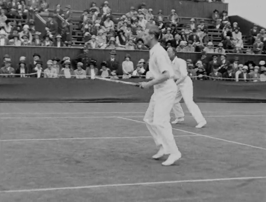Video: The Queen's Dad Playing At Wimbledon... And Losing