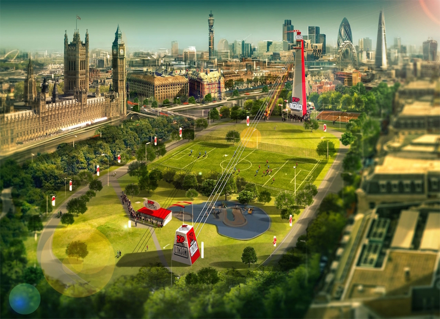 Ticket alert: see the skyline from London's fastest zipline