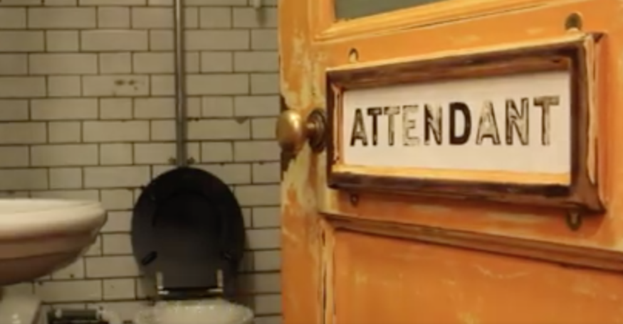 Anyone fancy a coffee in a Victorian public toilet?