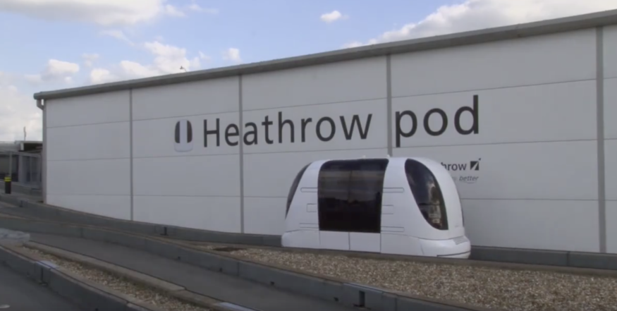 Video: Have You Seen These Self Driving Pods At Heathrow?