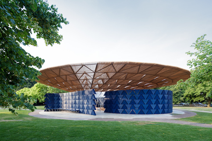 Part Building, Part Waterfall: This Year's Serpentine Pavilion