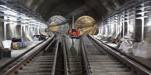 New Photos Offer A Sneak Peek Inside The Crossrail Tunnels