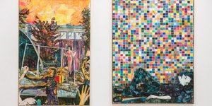 A Double Dose Of Colour At Camden Arts Centre