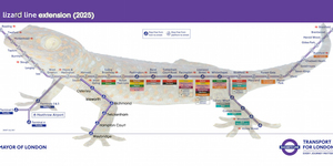 Why We'll Be Calling Crossrail The Lizard Line