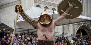Prepare To See Full-Scale Gladiatorial Battles In The City