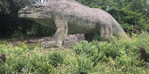 A Prehistoric Day Out At The Crystal Palace Dinosaurs