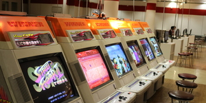The Croydon Video Game Arcade That's Recycled From The Trocadero