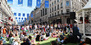 Sit In The Middle Of Regent Street This Sunday