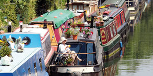 In Pictures: Living On London's Waterways