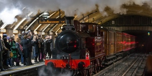 Ride On A Vintage Steam Train On The Met Line
