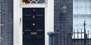 Ever Seen London's Fake 10 Downing Street?