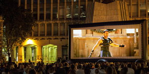 Armour Up! A Roman-Themed Pop-Up Cinema Is Coming To Guildhall Yard