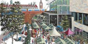 A Trip Around London's Markets... In Watercolours