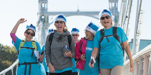 Join Thousands Of Walkers As They Turn London's Bridges Blue In Aid Of Diabetes UK
