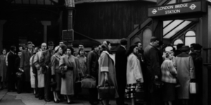 Vintage Images From The London Underground