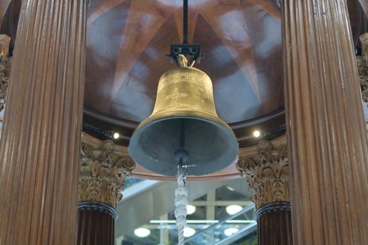 Behind The Bell at Lloyd's Of London