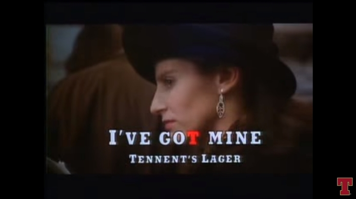The Vintage Tennent's Ad That Properly Hates London