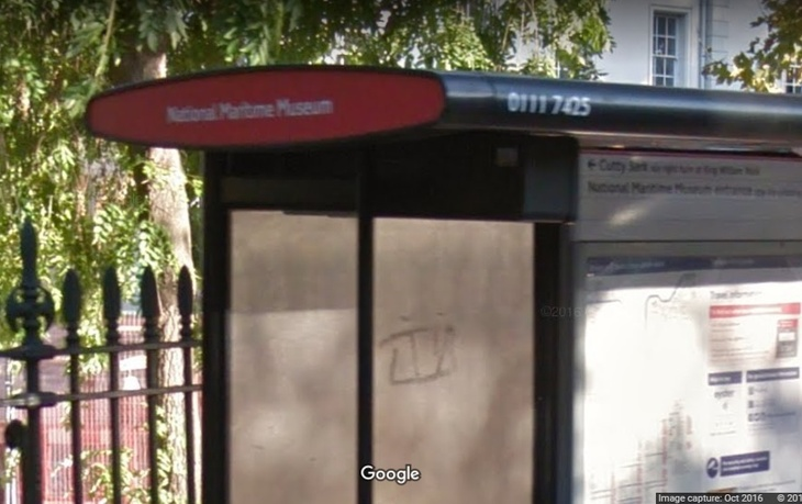 Ever Noticed This Typo On A Greenwich Bus Stop?