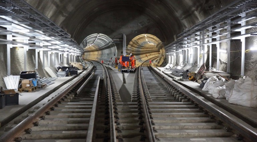 A Sneak Peek Inside The Crossrail Tunnels