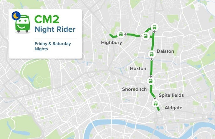 Citymapper Enters The Public Transport Game With Its Own Night Bus