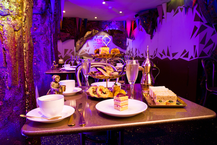 London's sparkliest afternoon tea is at Cutter & Squidge