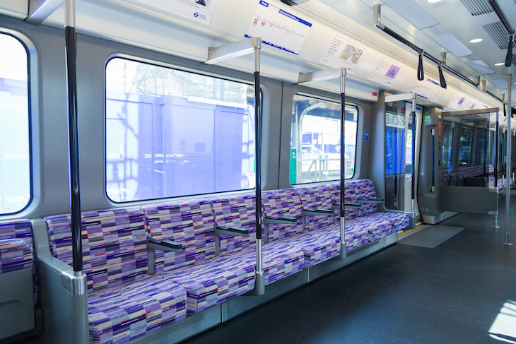 The north london street where tube moquette is born for London underground moquette