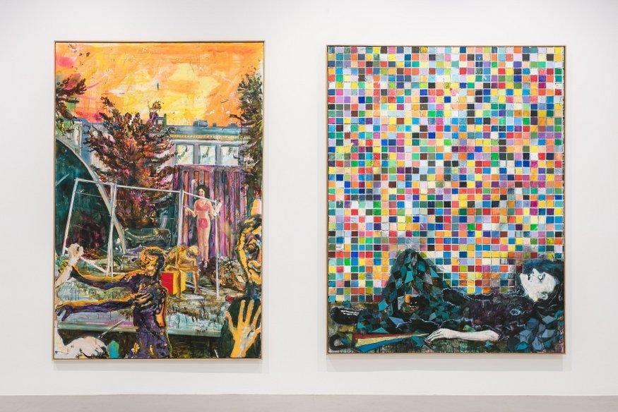 A double bill of abstract colour at Camden Arts Centre