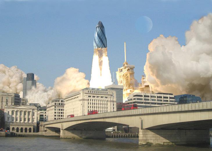 Future Gimmicks For London's Skyscrapers