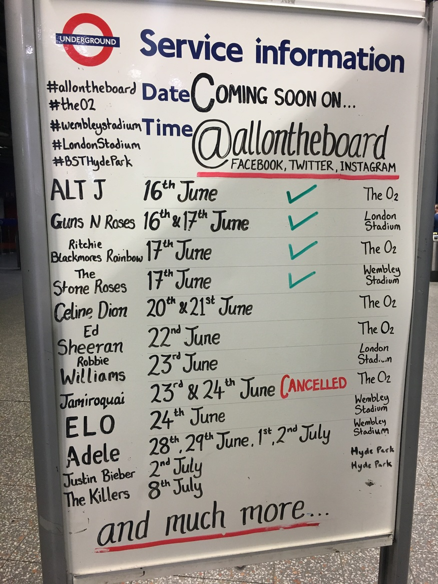 Meet The Banksys Of The London Underground Notice Boards