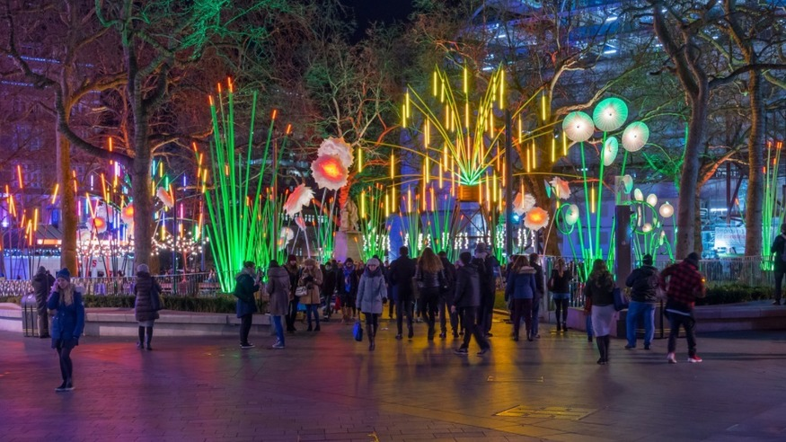 Lumiere Light Festival Is Coming Back To London