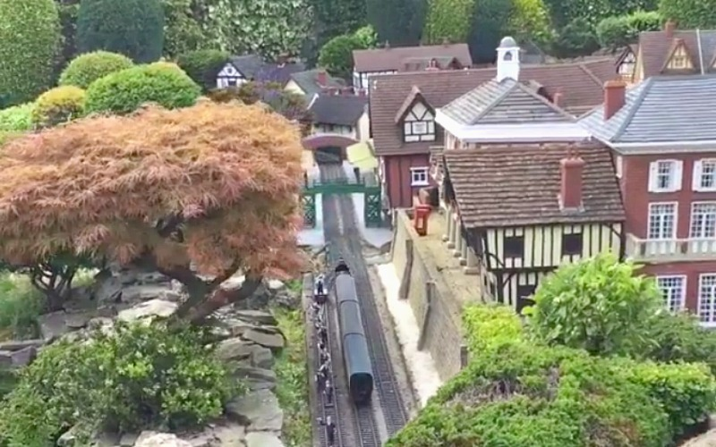 Video: There's A Miniature Version Of England Just Outside London
