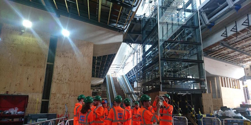 See the new London Bridge station concourse before anyone else