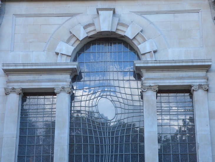 Ever Noticed This Unusual Church Window?