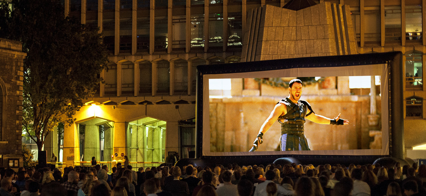 Swords And Sandals: A Roman-Inspired Pop-Up Cinema Is Coming To London
