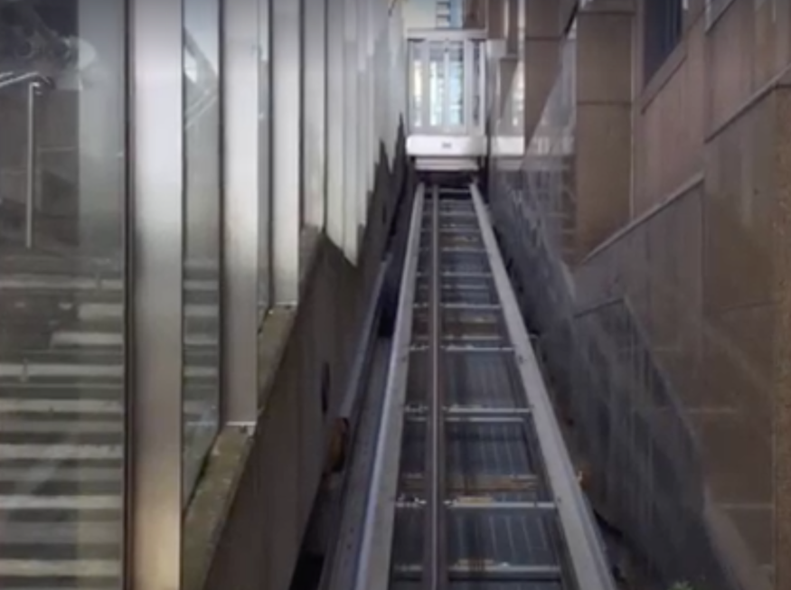 Have you seen the Thames funicular railway?