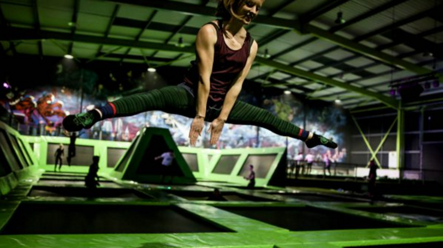 Be A Big Kid At London's Trampoline Adventure Park