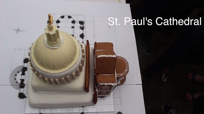 The great architectural cake off - see London buildings recreated in cake