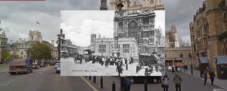 Fascinating photos of London past and present