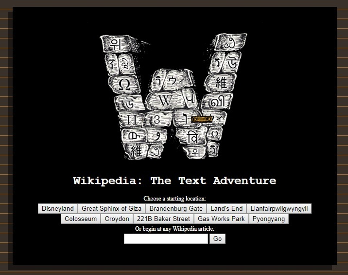 Explore London In This Wiki Choose Your Own Adventure