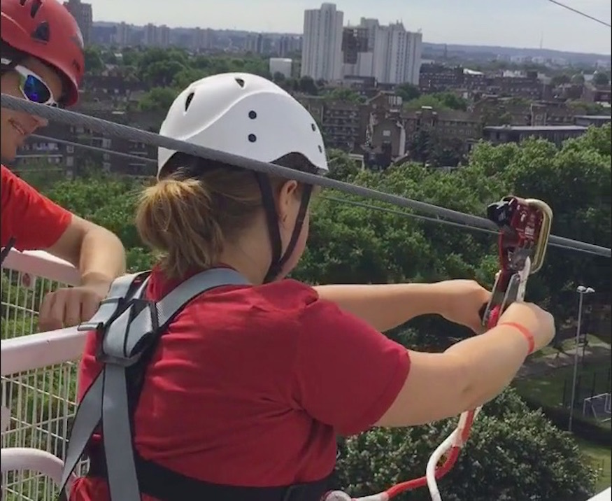 A Ride On London's New Zipwire
