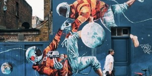 Check Out This Colourful Graffiti In Shoreditch